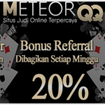 MeteorQQ Agen Judi Online Terpercaya dan Terbesar